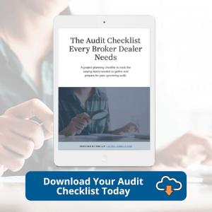 EWA - Broker Dealer Checklist CTA 1